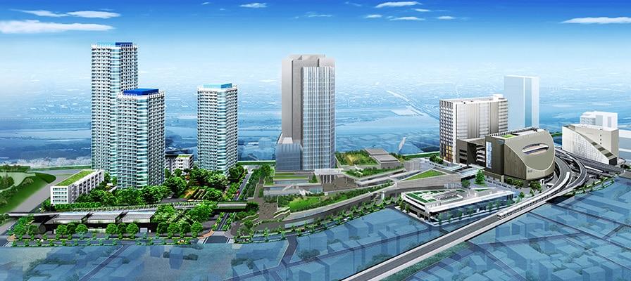 鷺沼駅前、地上37階 高層ビル化計画 ...